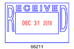 66211 - #66211 Received Stock VersaDater