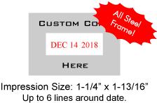 COSCO-3360D - Cosco 3360 Date Stamp