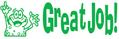 35155 - Great Job! Teacher Stamp