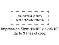 XSN11 - N11 Xstamper Pre-Inked Stamp